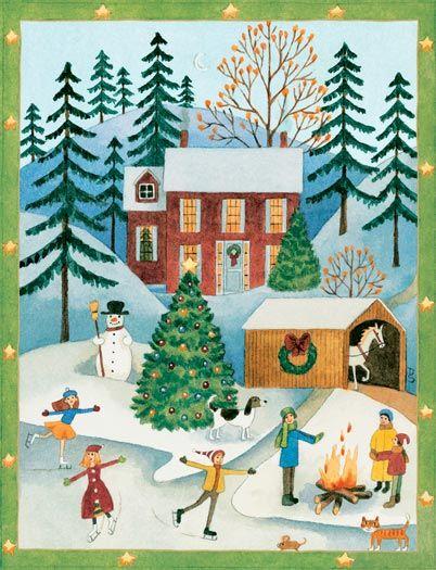 Caspari Christmas Cards.Caspari Christmas Cards Merry Christmas And Happy New Year