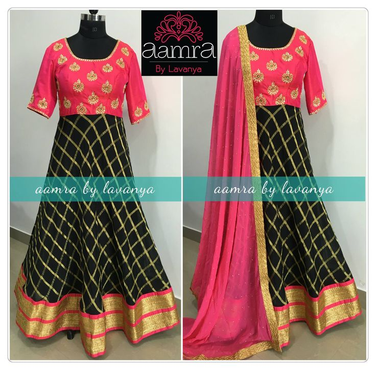For details and colour customisation please call/watsapp on +91-9177363970 or email to aamrabylavanya@gmail.com aamrabylavanya aamrabylavanyacollection black fuschiapink indianpartywear indianembriodery partywearanarkali designer indianstyle shopnow 15 December 2016