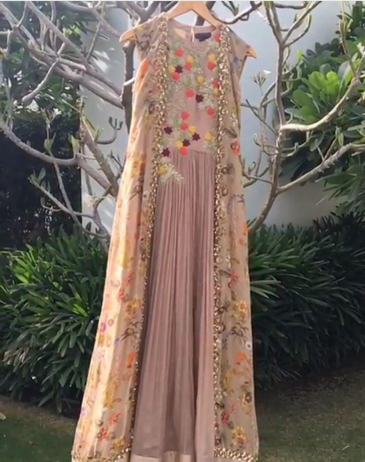 Ridhi Mehra # draped elegance # nude color love #