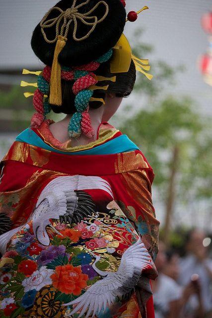 花魁道中 安城七夕祭り 3 Aug, 2012 ~Oiran~ by keisukemakino on Flickr.