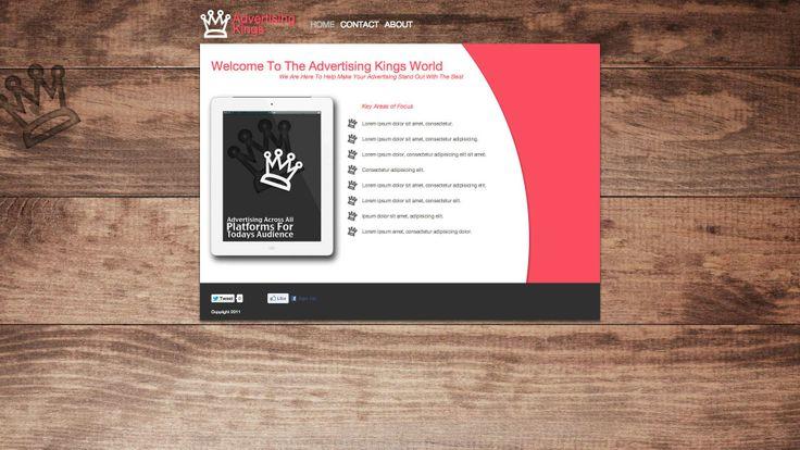 Diseño web para agencia de publicidad