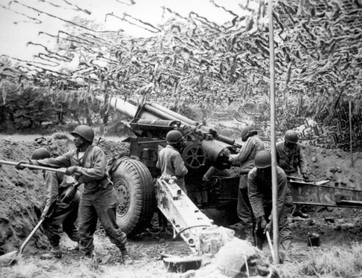 Image result for us artillery normandy