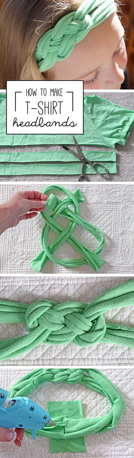 9 Make Headbands Out of Shirts fa0c5ef | DIY