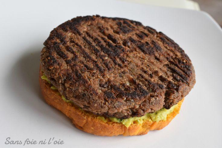 Steak haché de la mort qui ne tue pas les animaux (vegan, sans gluten)