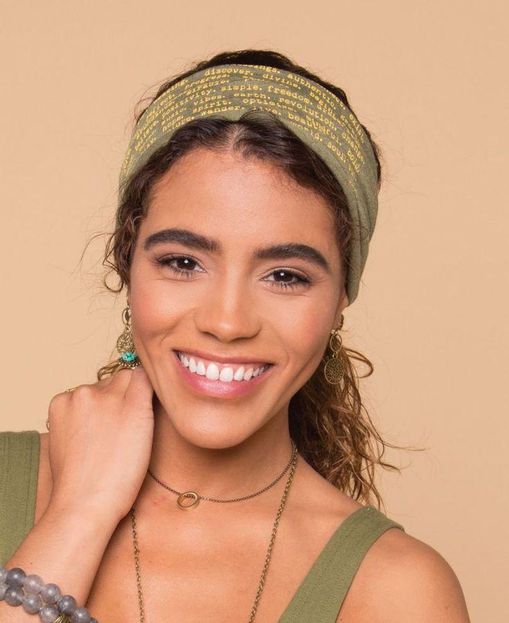 Positive Messages Yoga Headband