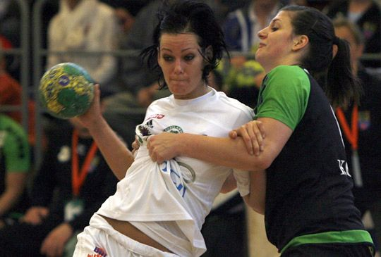 She is the best handball player in the world! This year she and her team Gyori ETO won the Champions League and the national team got the third place on the European championship!!