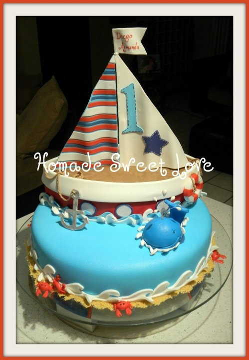 Ideas Of First Birthday Cakes