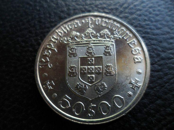 PORTUGAL - MOEDA DE 1968,   500 ANOS DO NASCIMENTO DE PEDRO ALVAREZ CABRAL
