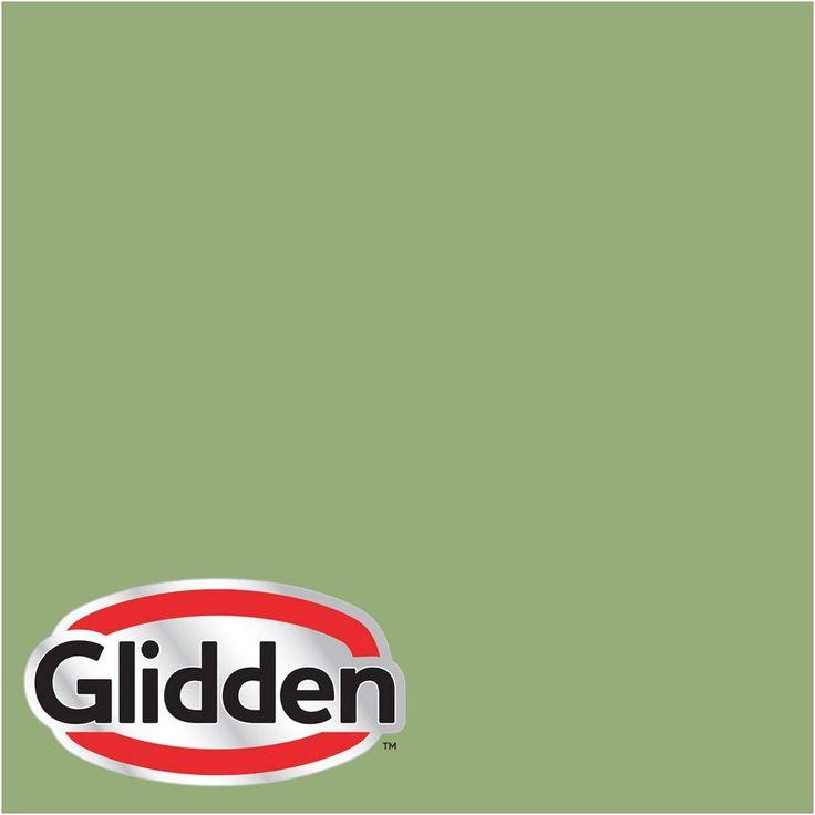 Glidden Premium 8-oz. #HDGG47D Spring Hosta Green Satin Interior Paint Sample, Greens
