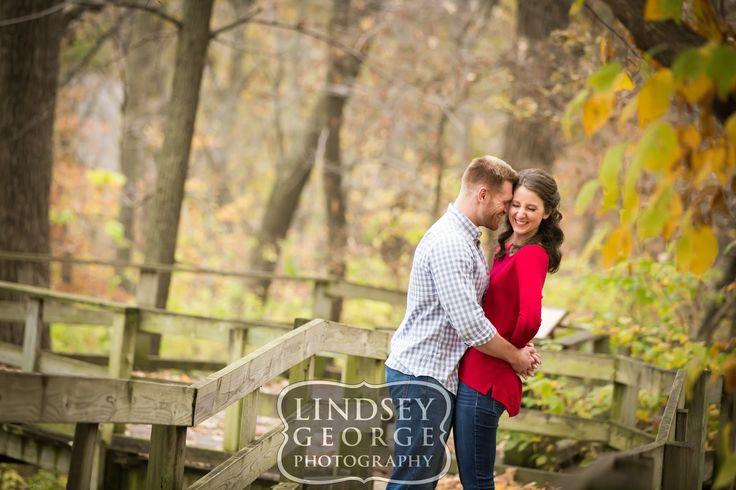 Engagement Session at Fontenelle Forest Bellevue Nebraska