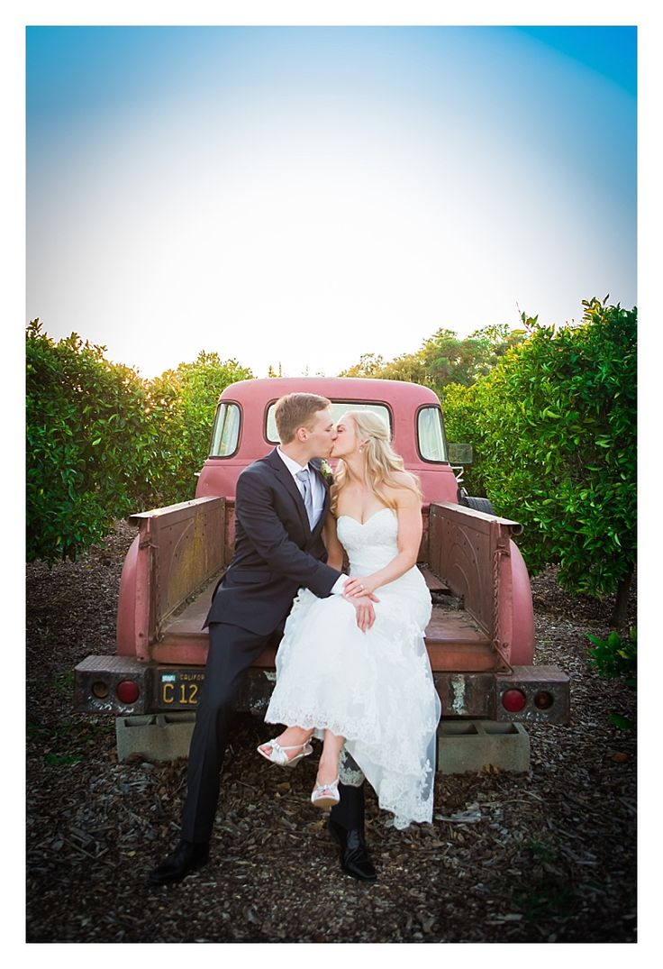 red truck, formal pictures, bride and groom, posing ideas, Flower Farm Wedding, Donna Beck Photography, Flower Farm Inn, The Flower Farm Wedding and Events, Sacramento Wedding Photographer, Northern California Wedding Photographer
