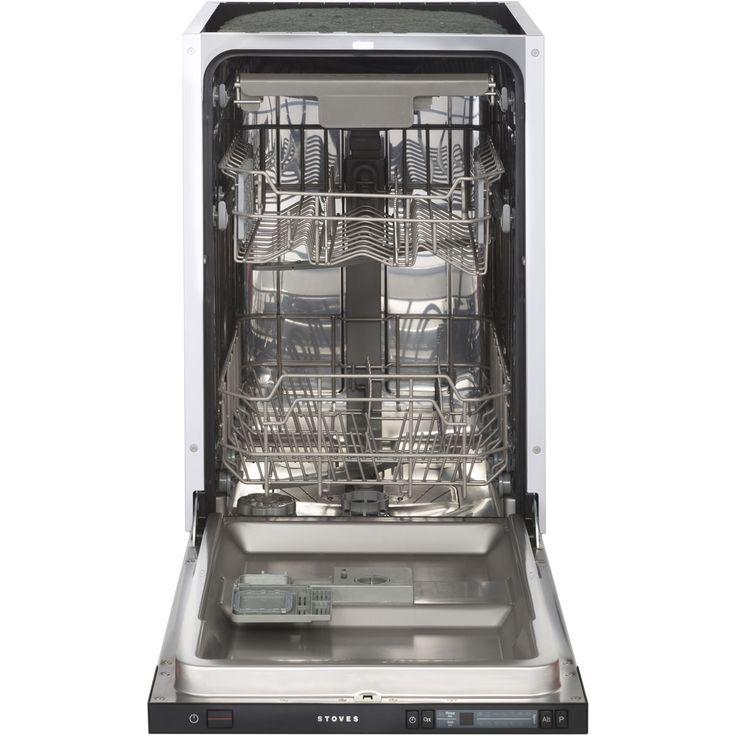 INTDW45_BK | Stoves Slimline Dishwasher | Integrated | ao.com    £299