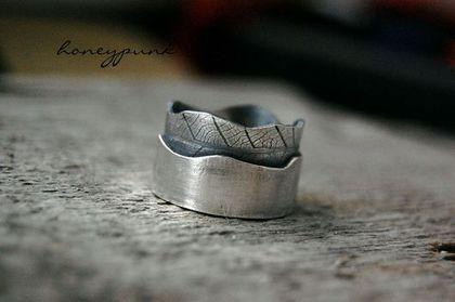 Кольца ручной работы. Ярмарка Мастеров - ручная работа. Купить Кольцо из серебра LEAF. Handmade. Кольцо серебро, honeypunk, серебро