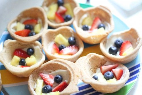 Fruit Pizza Cupcakes.  Maybe try it with these cookies: http://www.thegraciouspantry.com/clean-eating-cut-out-cookies/
