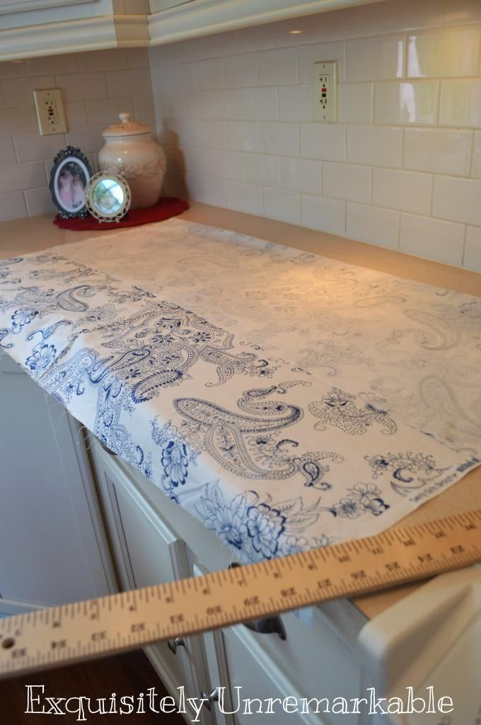 Box Pleat Valance Pattern