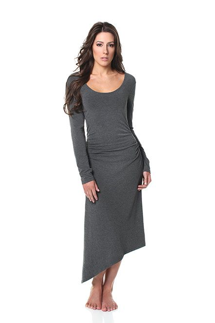 Lux Sleepwear Chinook Charcoal Grey