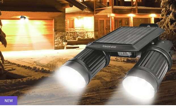 New #Deal Available - Twinspot Pro Solar Motion Light With Extension & Mounting Bracket @ https://igrabbedit.com/twinspot-pro-solar-motion-light-extension-mounting-bracket/