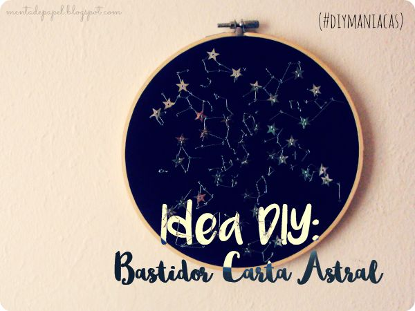 Idea DIY: Bastidor Carta Astral