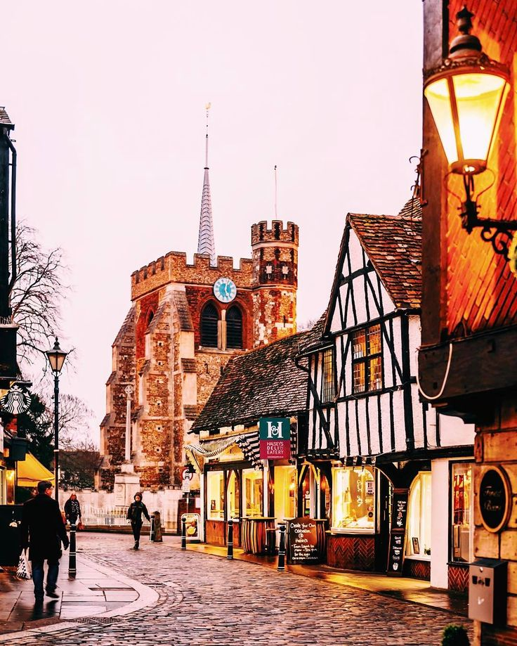 """This is the historic centre of #Hitchin a town north of London. #"""""""