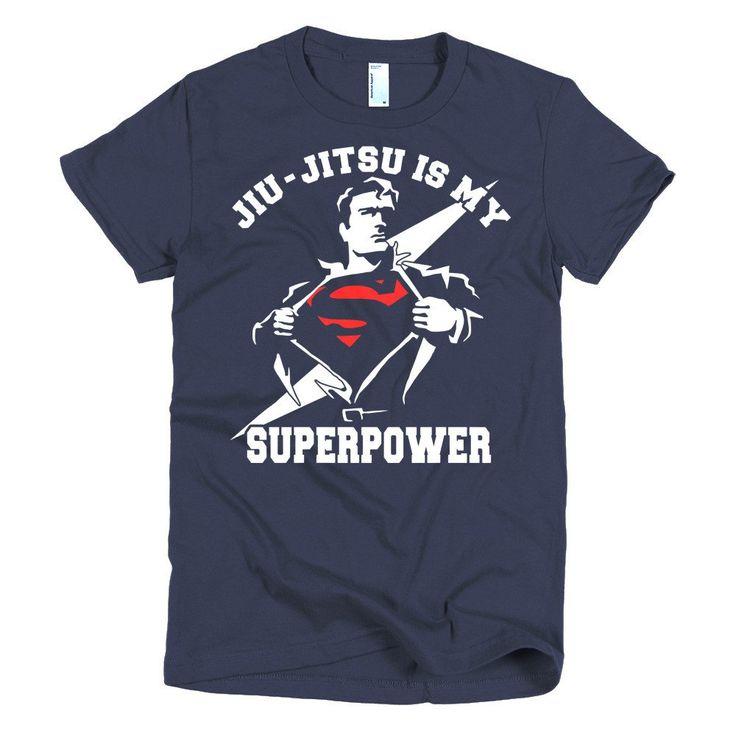 Jiu Jitsu is My Superpower women's BJJ t-shirt