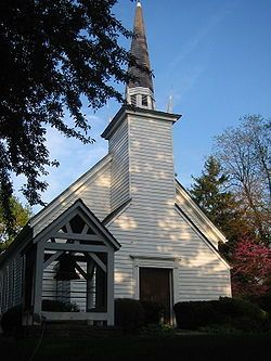 Her Majesty's Royal Chapel of the Mohawks is the oldest building in Ontario and the first Protestant Church in Upper Canada. It is one of six Chapels Royal outside of the United Kingdom, one of two in Canada, the other being Christ Church Royal Chapel in Deseronto, Ontario. In 1981 the chapel was designated a National Historic Site of Canada.