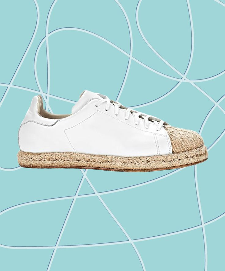White Sneakers For Summer | The best white sneakers for giving your Stans a rest. #refinery29 http://www.refinery29.com/white-sneakers-summer