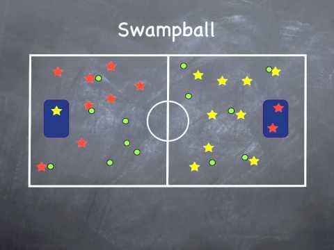 Physical Education Games - Swamp Ball ***This guy has a lot of gym games clearly explained with visuals on his youtube channel***