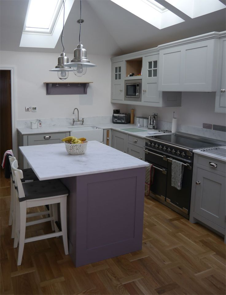 This Dunham Fitted Furniture handmade, bespoke kitchen is just so cute I could eat it up! Well eat from it.....