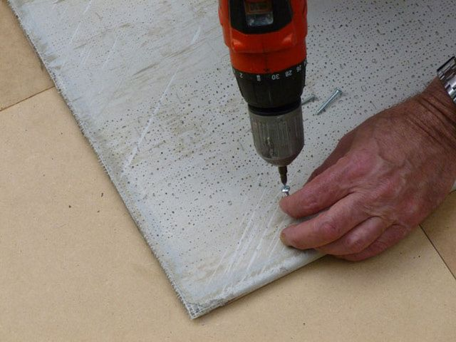 How to Install Marble Floor Tiles: A Photo Tutorial: Preparing The Subfloor