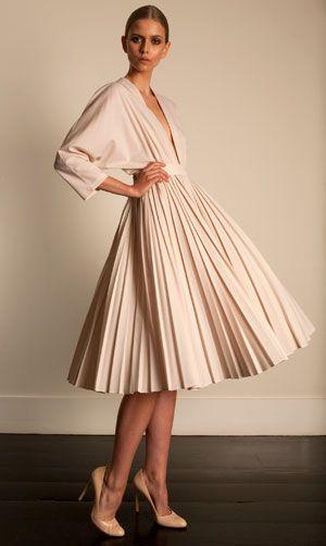 emilia wickstead. A beautiful nude dress. ~REB