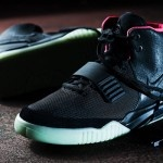 Nike Air Yeezy 2 Black/Solar-Red