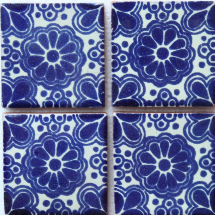 Some Of These Hand Painted Mexican Tiles From Hadeda