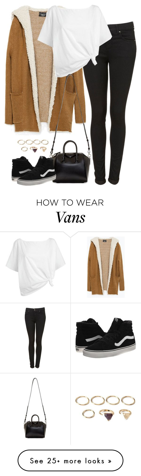 """Untitled #4945"" by eleanorsclosettt on Polyvore featuring Zara, Red Herring, Givenchy, Vans and Forever 21"