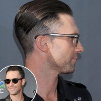 Adam Levine Shaves Half His Head—See His New Haircut