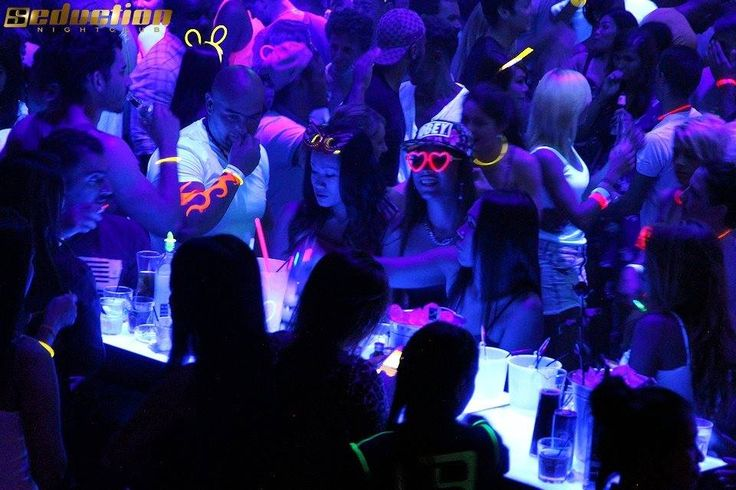 Glow party every Wednesday @Seductionclub Phuket, Thailand.