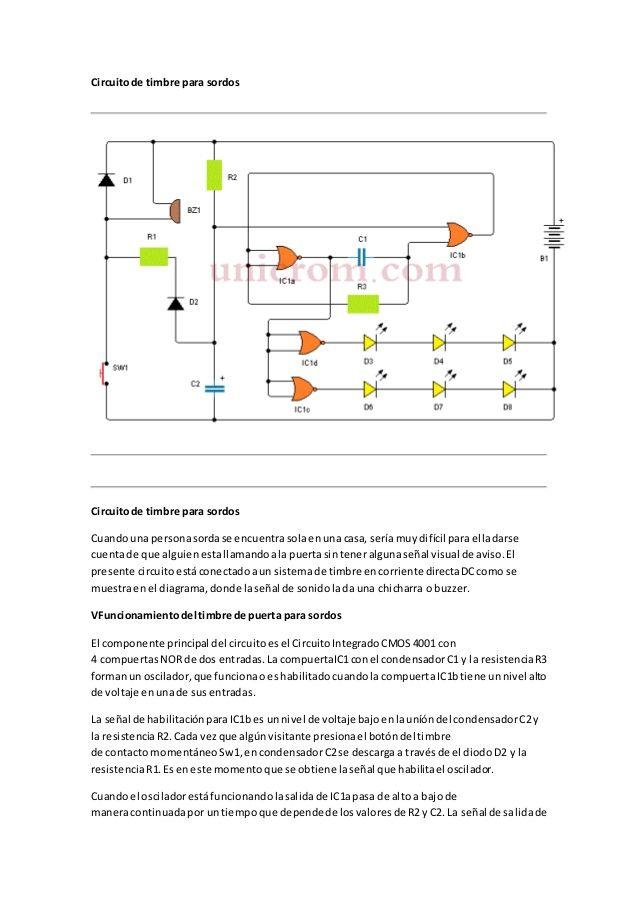 Circuito De Timbre Para Sordos Linkedin Profile Alta
