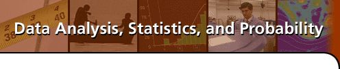 Data Analysis, Statistics, and Probability introduces statistics as a problem-solving process. In this course, you can build your skills through investigations of different ways to organize and represent data and describe and analyze variation in data. Through practical examples, you can come to understand the concepts of association between two variables, probability, random sampling, and estimation.