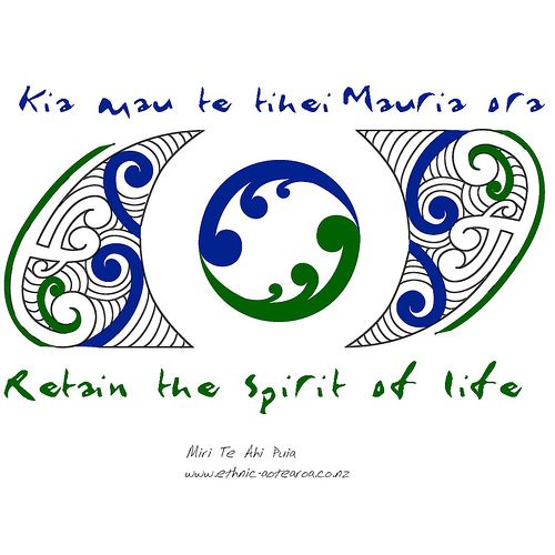 Maori Art - Spirit of Life