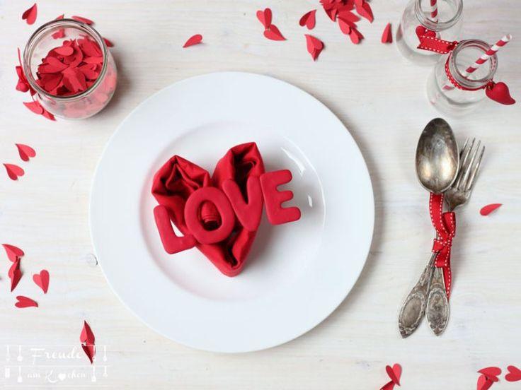 Tischdeko Für Den Valentinstag   14 Blogger   14 Ideen Für Den Valentinstag    Freude Am