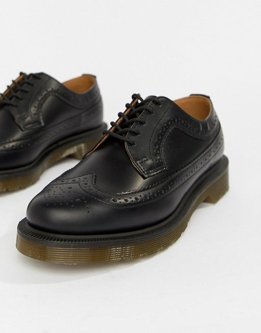 Dr Martens 3989 Black Stacked Brogues in 2019  d0a5dd8e4cf1