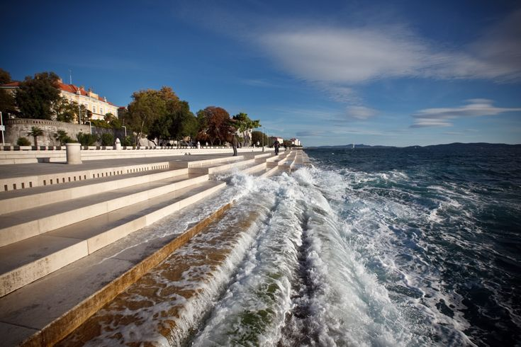 Hear This Croatian Seawall Sing as the Wind and Waves Lap the Shore