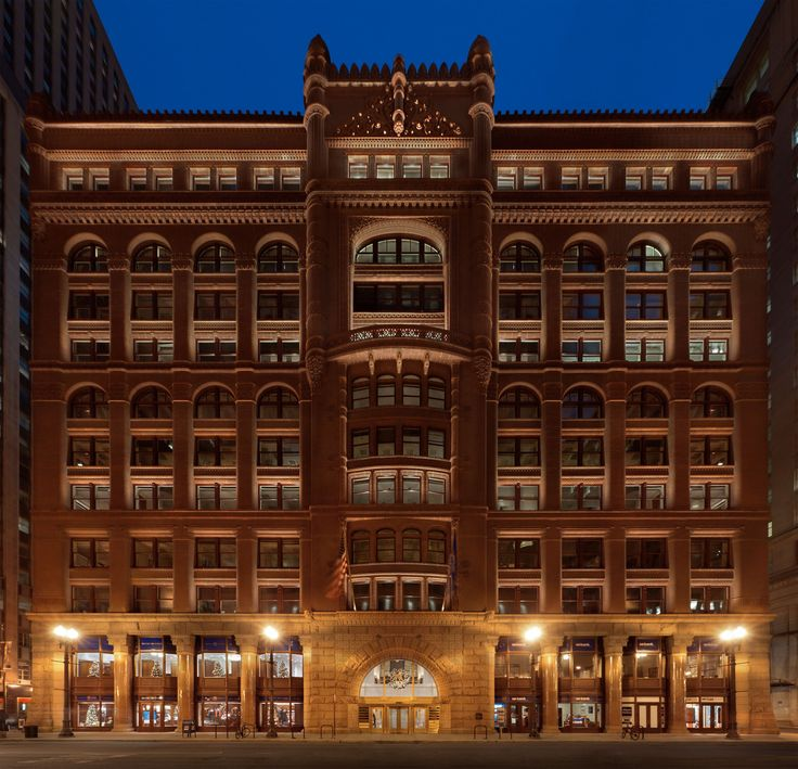 Lighting Chicago Il: 46 Best Heritage Building Lighting Images On Pinterest