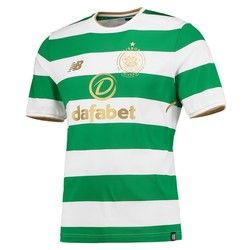 Celtic Mens 2017/18 Home Top With Sponsor