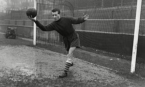 Ron Springett in 1956 with QPR.