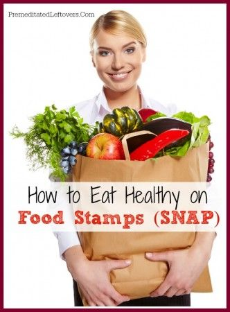 There are more ways to fit healthy food into your SNAP budget than you may think! Here are some tips on How to Eat Healthy on Food Stamps. | via @aleamilham