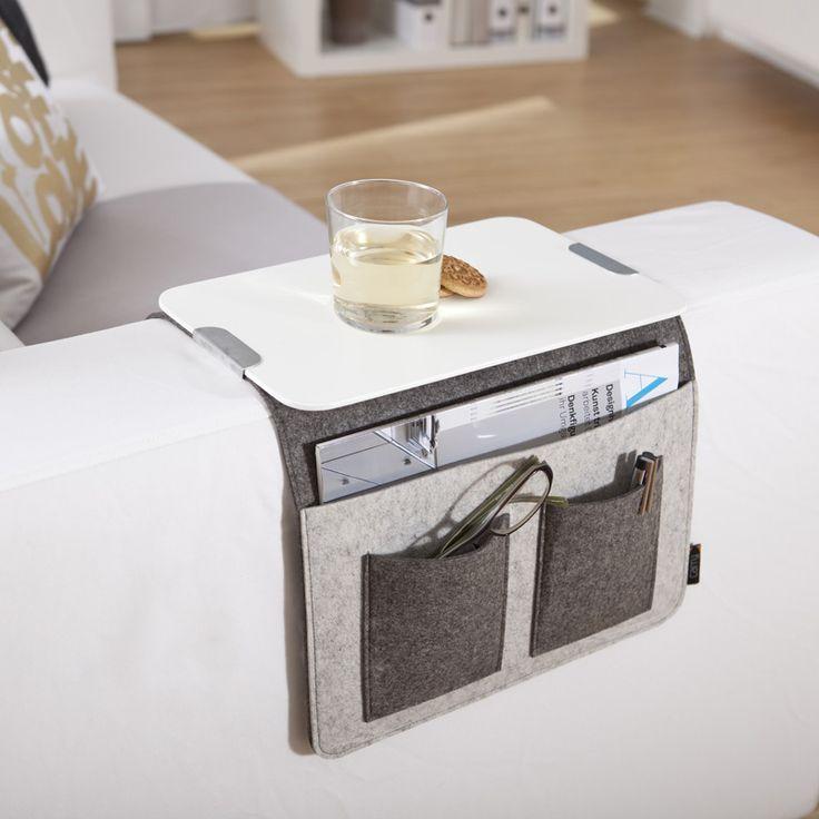 Die besten 25+ Sofa Beistelltisch Ideen auf Pinterest - design sofa plat von arketipo mit integriertem regal und beistelltisch