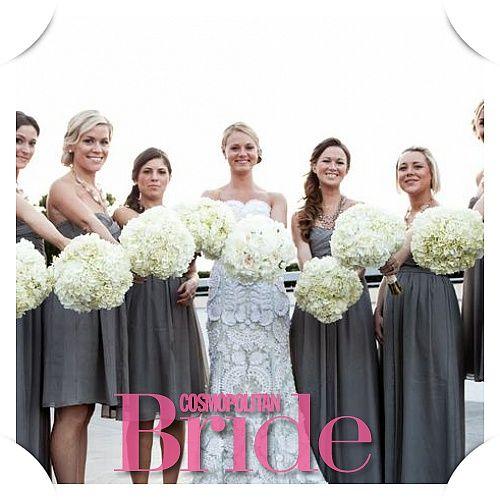 Cosmopolitan Bride - Cвадьба и все о свадьбе. Непросто быть оригинальной, учитывая, что каждые десять минут в мире регистрируют новый брачный союз. Но вместе у нас все получится.
