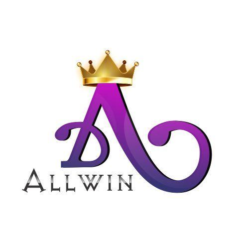Creative Logo Design For Allwin #graphics #crown #printing #softyoug  #logodesigncompany #