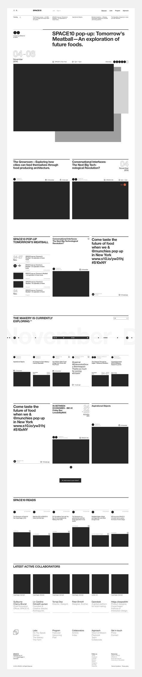 found by hedviggen ⚓️ on pinterest   editorial design   pages   layout   online   web #typeitem198 image