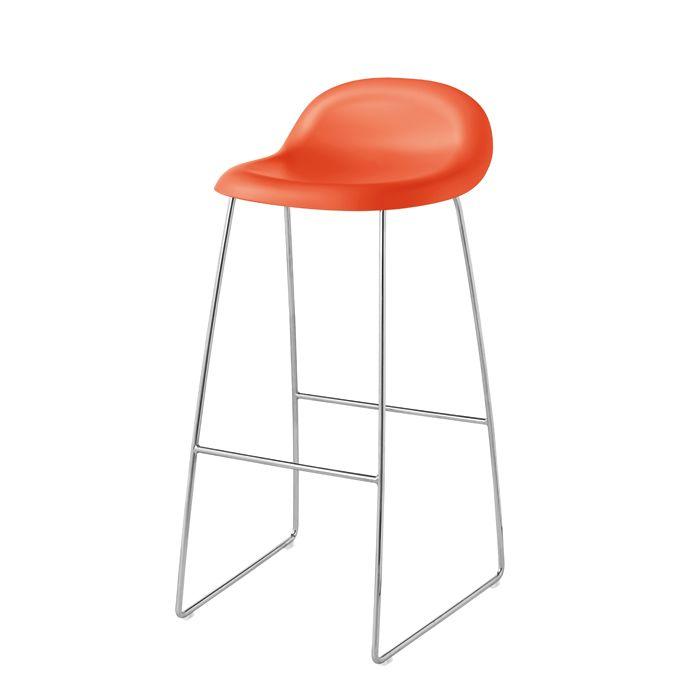 Die besten 25+ Orange barhocker Ideen auf Pinterest Barhocker - barhocker mit lehne 15 beispiele